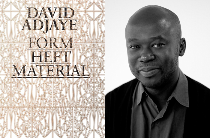 Form, Heft, Material by David Adjaye, 2015 | Recommended Reading: In Their Words | Knoll Inspiration