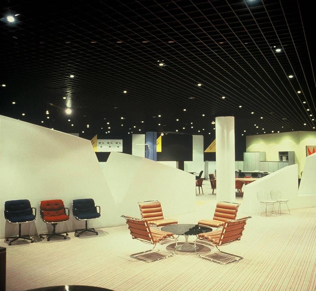 Arredoma Knoll showroom, designed by George Freedman