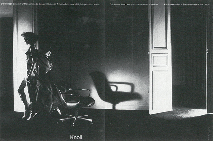 The Art Direction of Wolf Kaiser | Product: Charles Pollock Executive Chair | PC:  Guy Bourdin | Knoll Inspiration