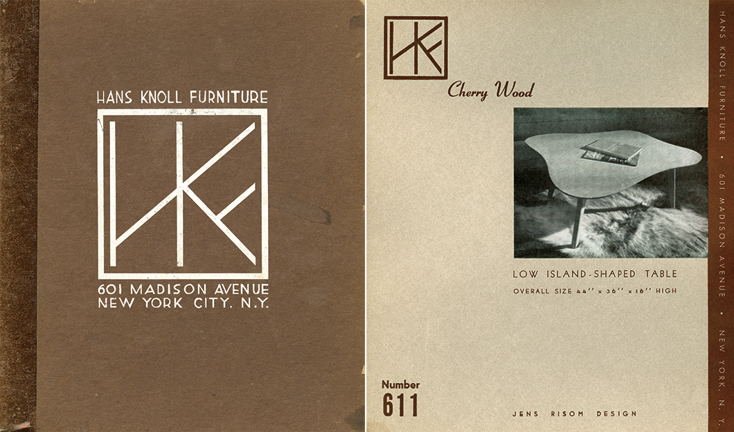 Jens Risom's designs for Hans Knoll Furniture, c. 1942 | PC: Knoll Archive | In Conversation with Helen Risom | Knoll Inspiration