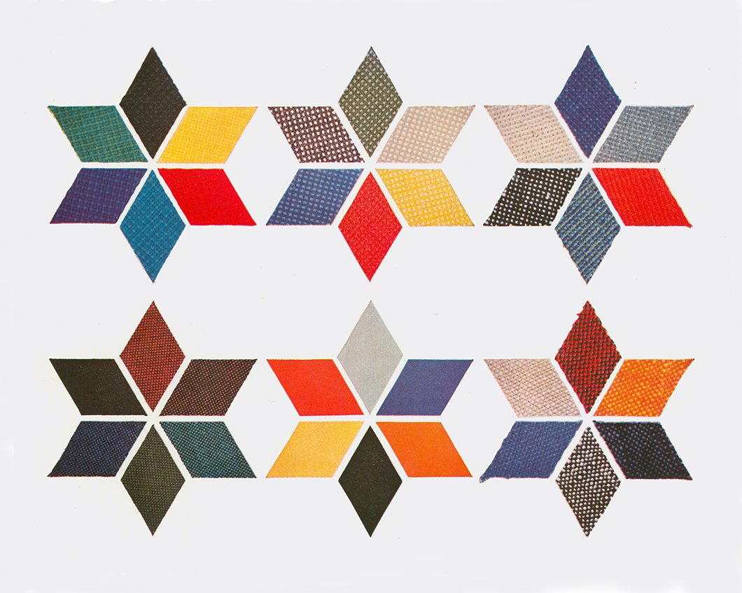 An example of a collage for KnollTextiles by Herbert Matter | PC: Knoll Archive | Knoll Inspiration