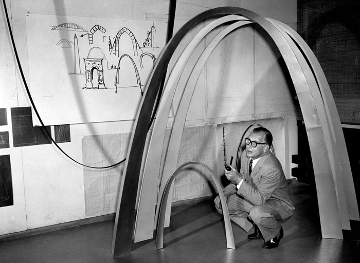 Eero Saarinen and The Gateway Arch