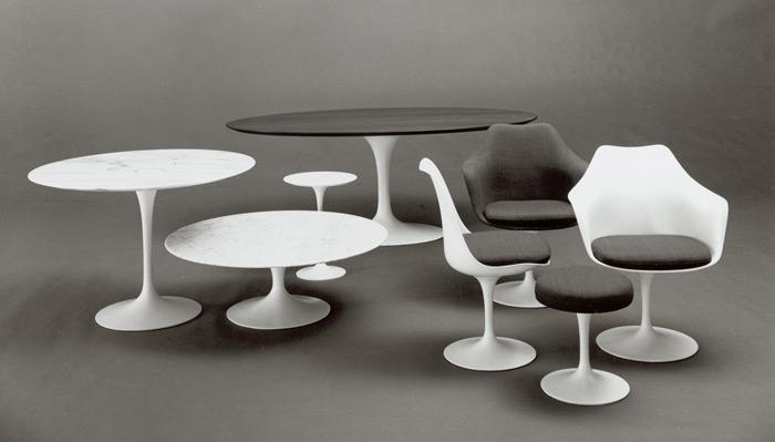 Knoll - Knoll pedestal table