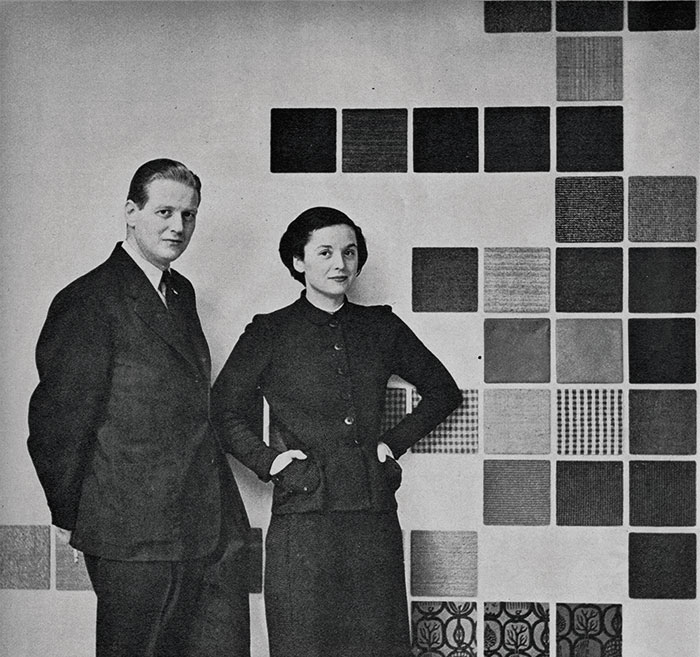 Hans Knoll and Florence Knoll