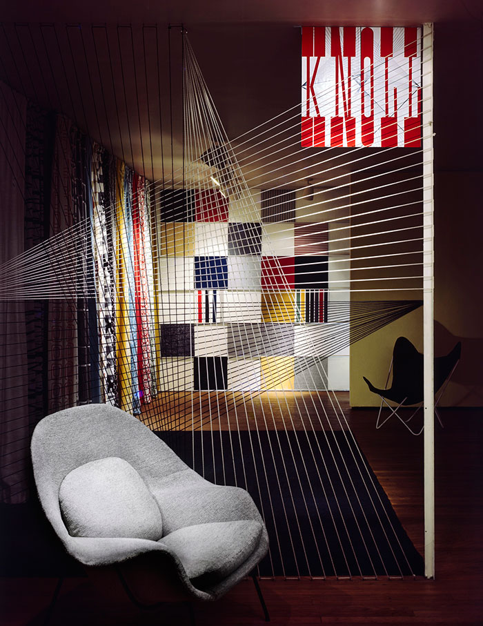 Knoll Showroom, 601 Madison Avenue. Photograph: Herbert Matter