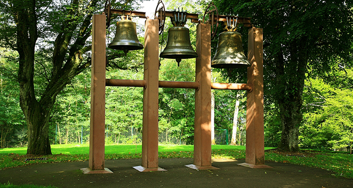 Jean Prouvé's Bells at Colline Notre-Dame du Haut in Ronchamp, France | Knoll Inspiration