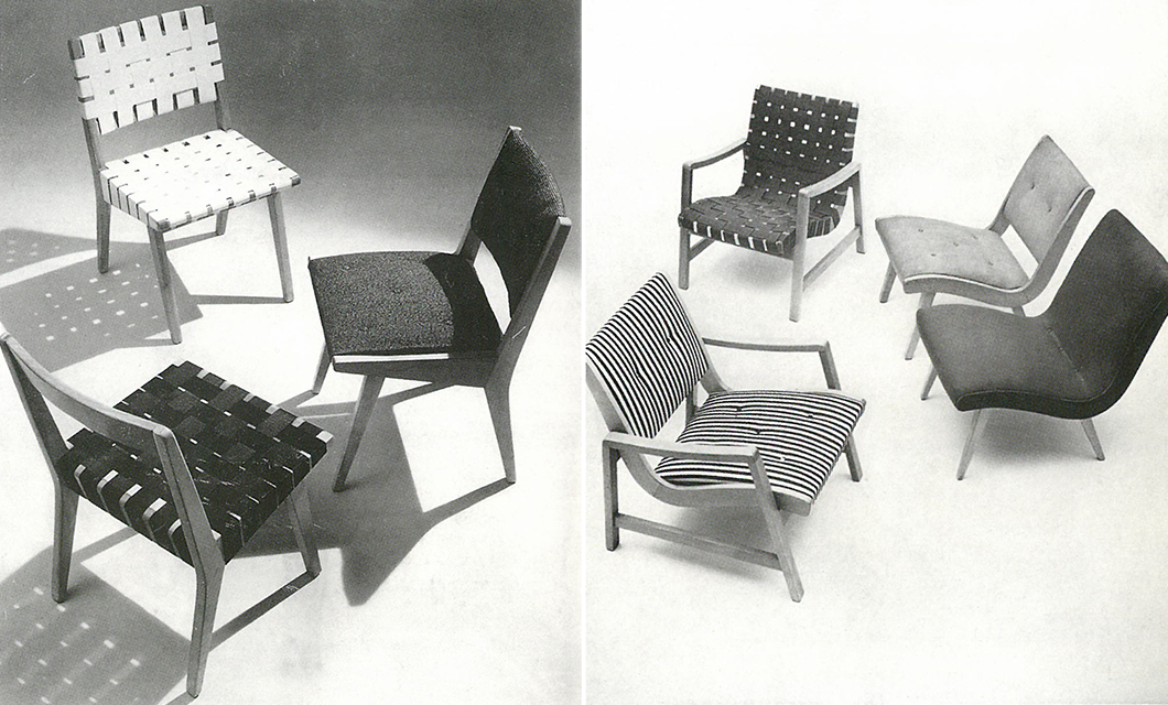 The 666 Side Chair and 650 Line Lounge Chair designed by Jens Risom, c. 1943 | PC: Knoll Archive | Knoll Inspiration