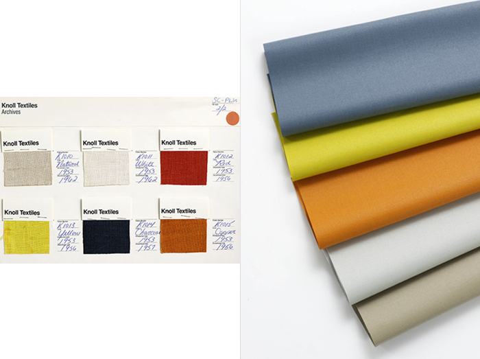 KnollTextiles Archival Collection | Plain Linen Upholstery, inspiration for Kingston