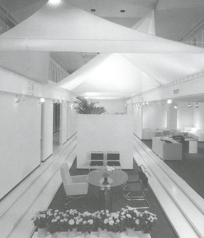 Knoll International showroom in Houston, TX, 1980 designed by Sally Walsh | Knoll Inspiration