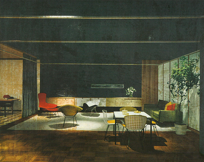 Knoll Showroom In Chicago Illinois 1953