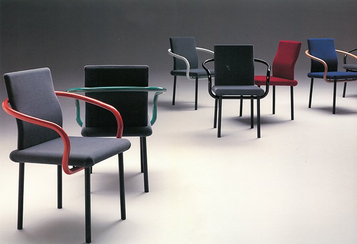 Mandarin Chair by Ettore Sottsass for Knoll Studio, 1986 | PC: Knoll Archive | Knoll Inspiration