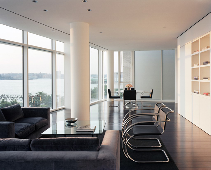 Richard Meier S Kojaian Apartment In Nyc Inspiration Knoll