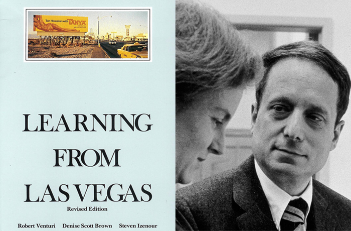Learning From Las Vegas by Robert Venturi & Denise Scott Brown, 1972 | Recommended Reading: In Their Words | Knoll Inspiration