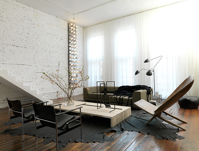 Lukas Machnik | South Loop Loft | Charles Pollock 657 Chair