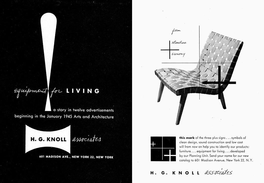 Alvin lustig knoll inspiration for Knoll and associates