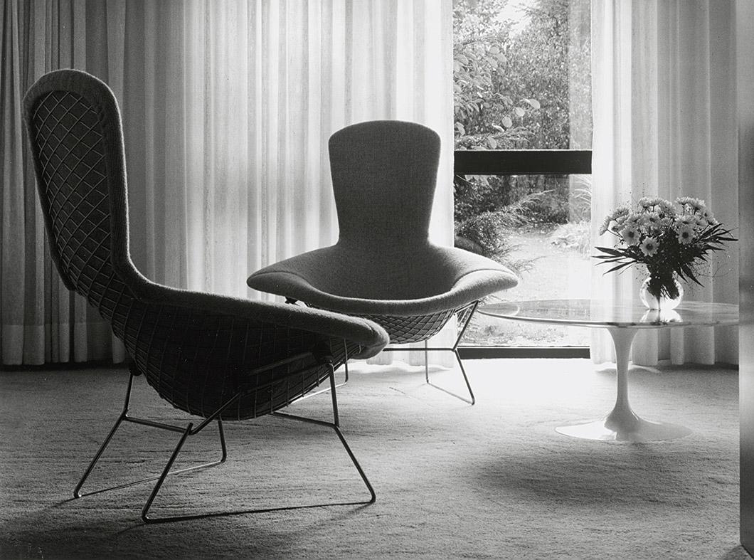 Mit chapel knoll inspiration - Bertoia coffee table ...