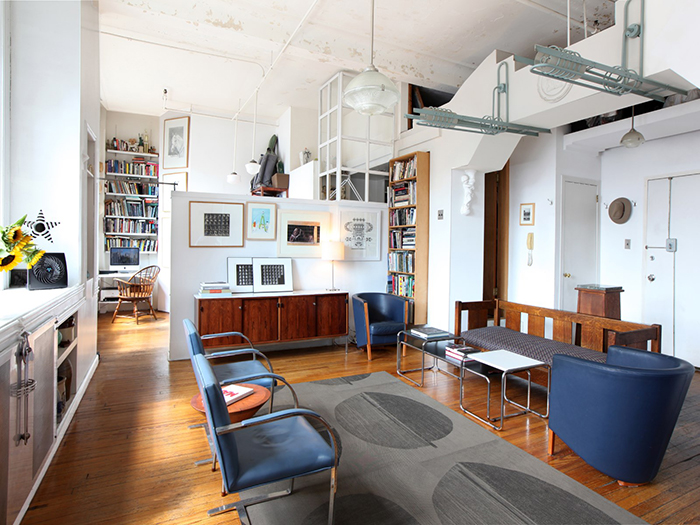 This Converted Loft In New Yorku0027s Historic MacIntyre Building, Now Home To  Architect Woodson Rainey, Was Built In 1892 For A Well To Do Chemist Named  Ewen ...