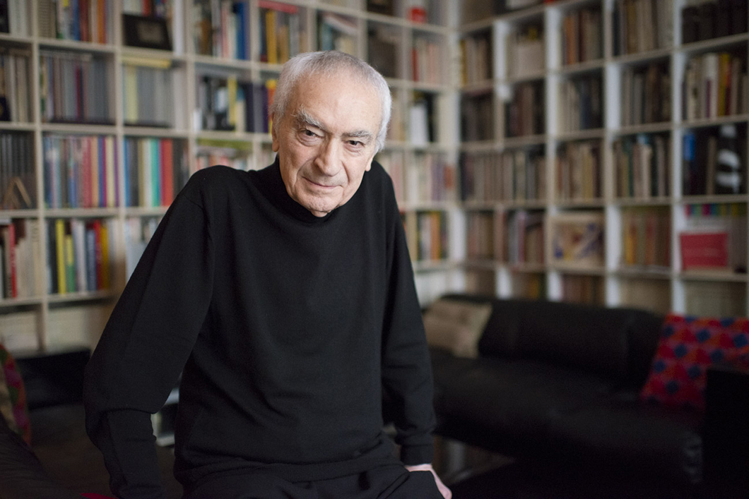 Massimo Vignelli in a still from Design Is One by Roberto Guerra and Kathy Brew, 2012 | PC: Kathy Brew | In Conversation with Kathy Brew | Knoll Inspiration