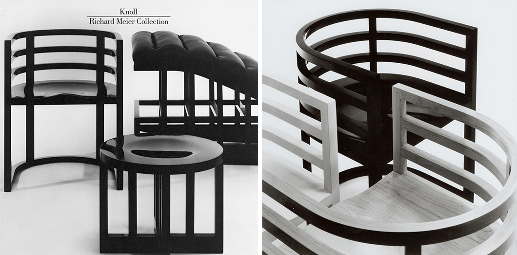 Charmant In The 1970s, The Modernist Architect Richard Meier Designed A Chair For  The Guggenheim Museum In New York. Meant For The Small Reading Room Tucked  Just Off ...