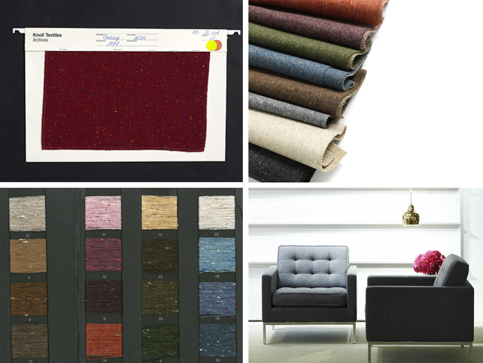 KnollTextiles Archival Collection | Galaxy Upholstery, inspiration for Melange