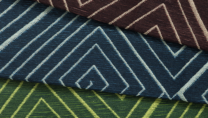 Meroe Upholstery by David Adjaye and Dorothy Cosonas, 2015 | PC: KnollTextiles | In Conversation with David Adjaye on The Adjaye Collection for KnollTextiles | Knoll Inspiration
