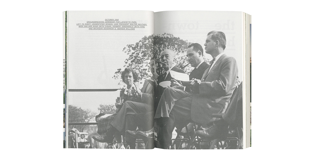 Two-page spread of Thanks for the View, Mr. Mies | Knoll