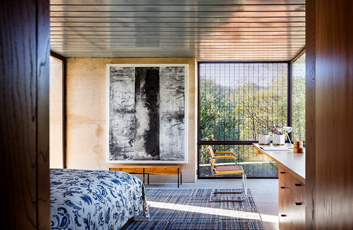 Steven Harris Architecture in Napa Valley features Marcel Breuer's Cesca Chair | Knoll Inspiration