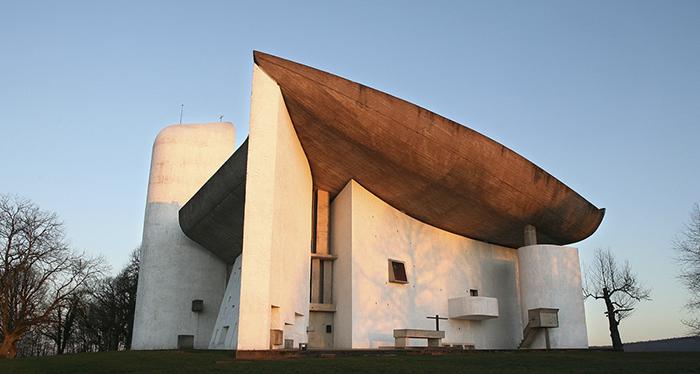 Colline Notre-Dame du Haut in Ronchamp, France | Knoll Inspiration