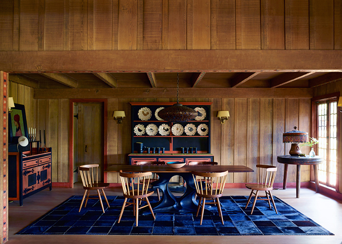 Commune Design in Ojai, California | George Nakashima's Straight Chair | Knoll Inspiration