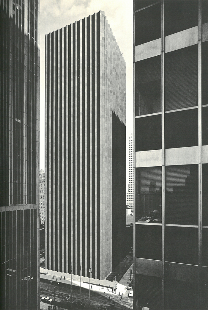 CBS 'Black Rock' Building by Eero Saarinen, c. 1965 | PC: Knoll Archive | Knoll Inspiration