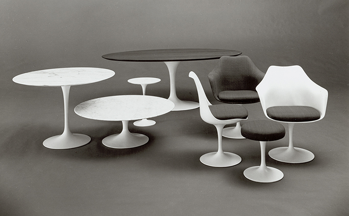 Eero Saarinen Pedestal Collection, 1958 | Knoll Inspiration