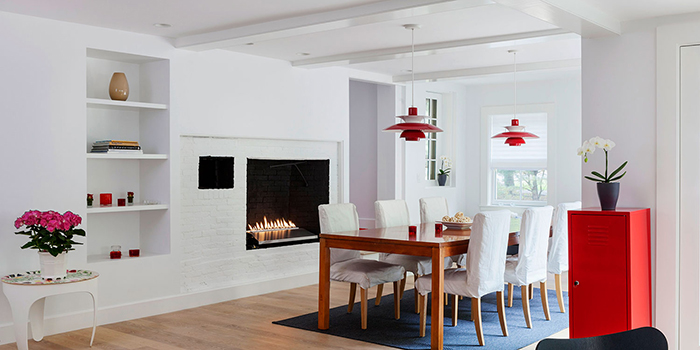 Dining Room in Lexington, MA by Sally DeGan of SpaceCraft Architecture