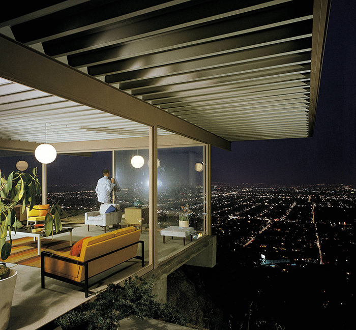 Photograph of Case Study House #22 (Stahl House) by Julius Shulman, 1960