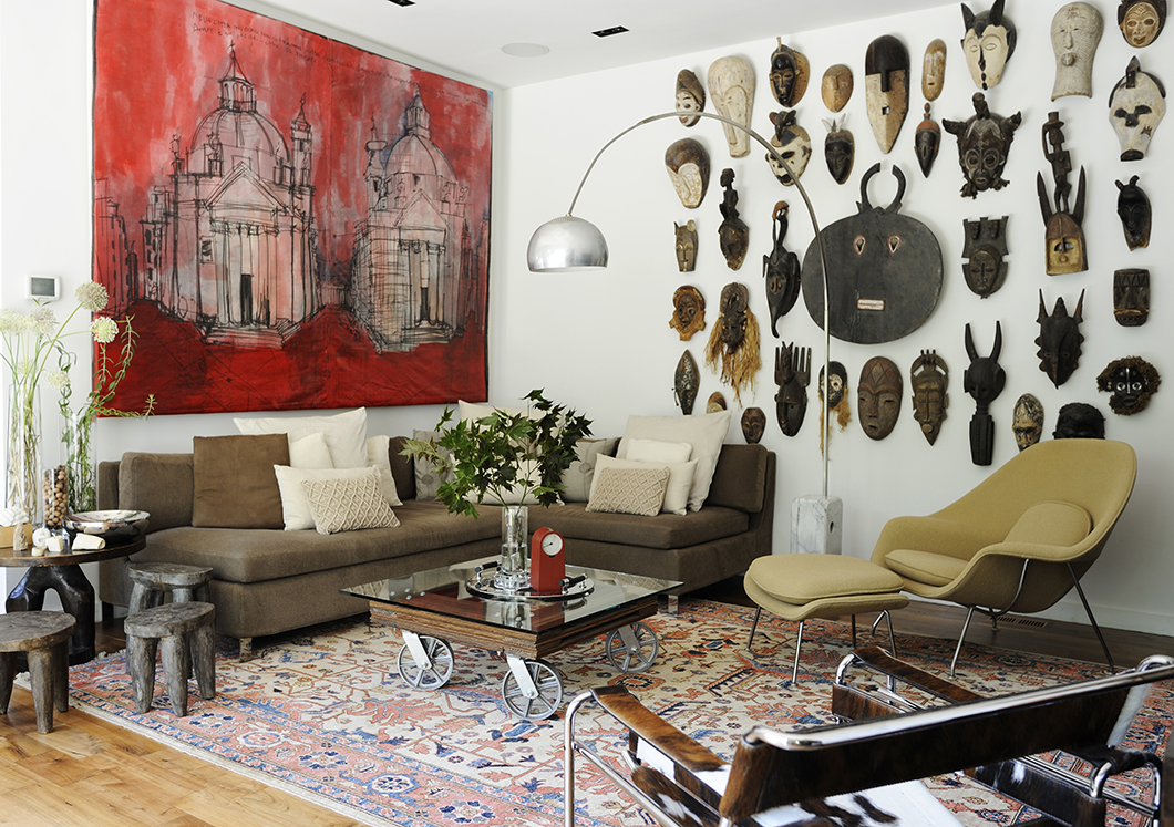 Cara Cummins and Jose Tavel's home in Atlanta, Georgia   PC: Anthony-Masterson   Knoll Inspiration