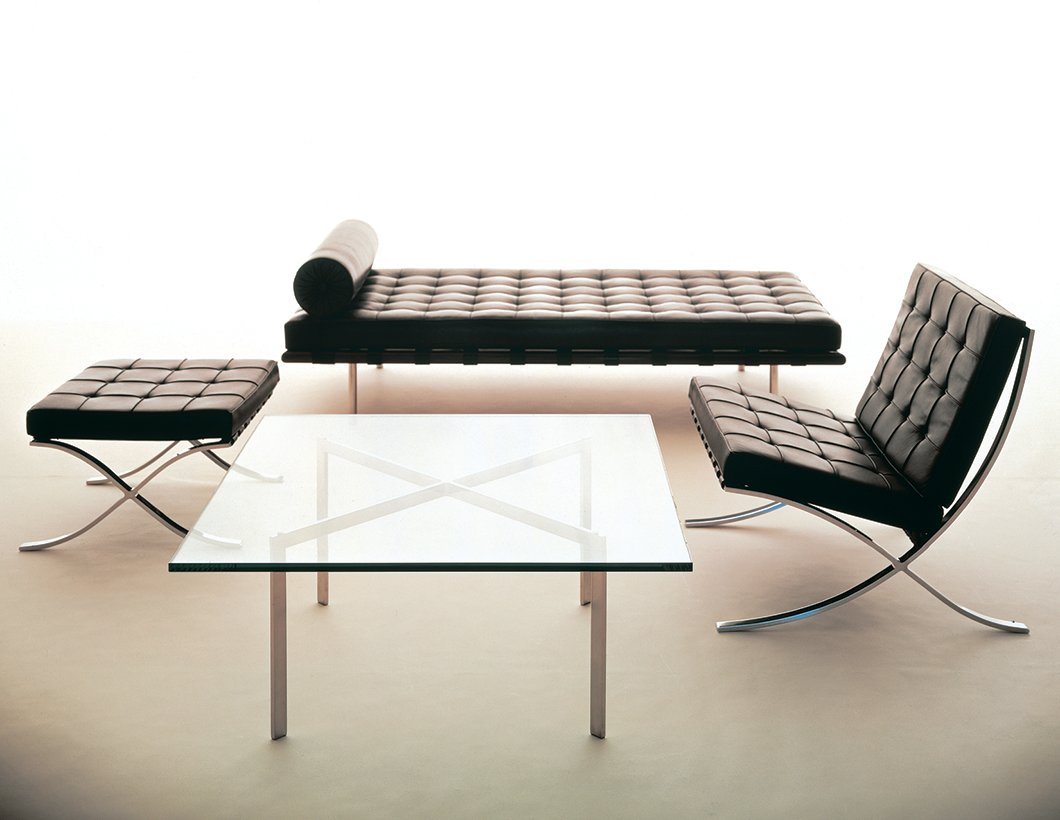 Design Deconstructed The Barcelona Chair Knoll Inspiration
