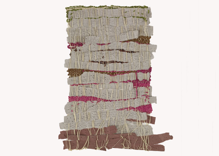 Sheila Hicks' Punched Notations, 2012