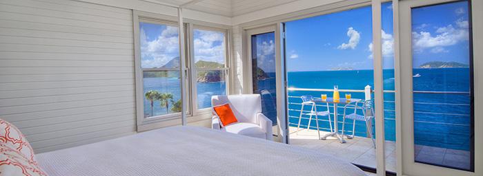 Jorge Pensi Table & Toledo Chair on Terrace in Tortola