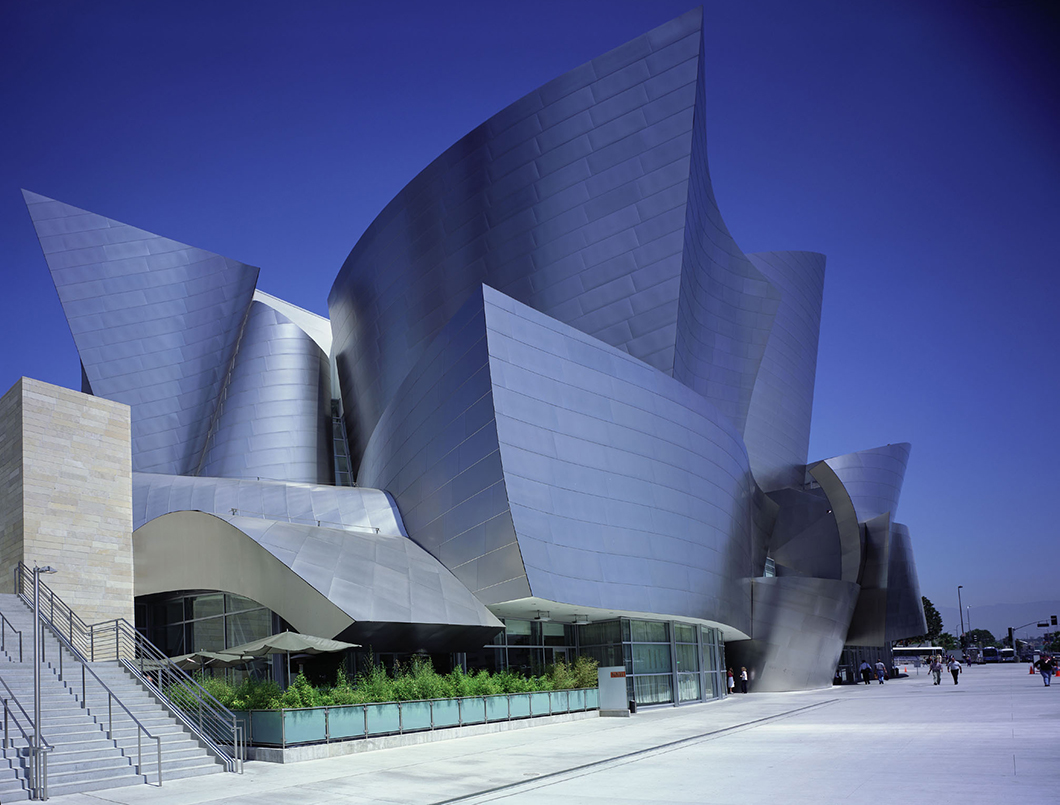 Walt Disney Concert Hall by Julius Shulman, 2003 | Knoll Inspiration