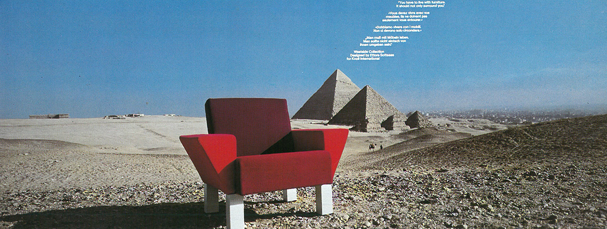 Westside Collection by Ettore Sotsass | PC: Knoll Archive | Knoll Inspiration