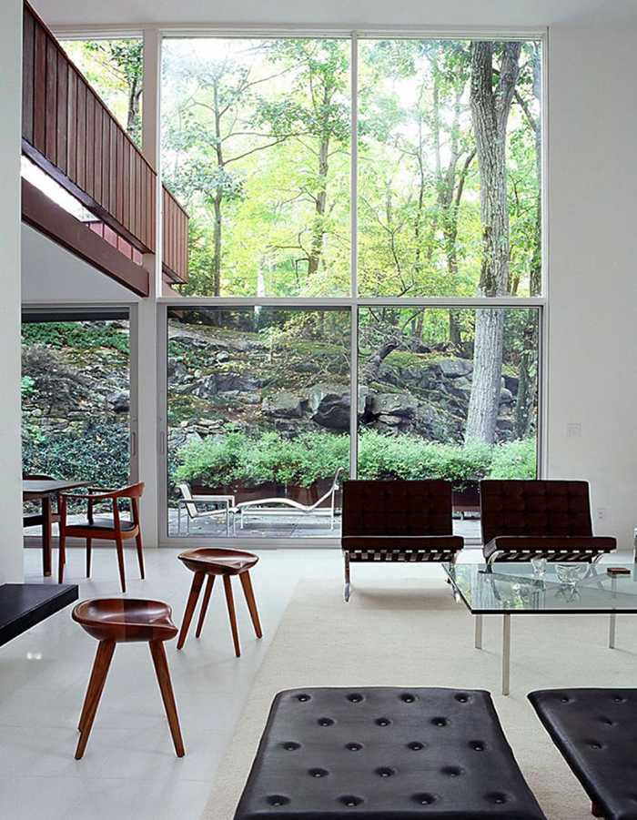 BassamFellows | Mies van der Rohe in New Canaan, CT