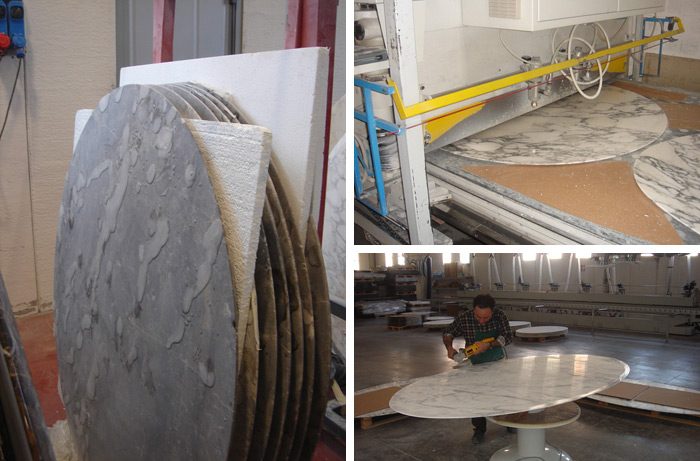 Knoll stone production