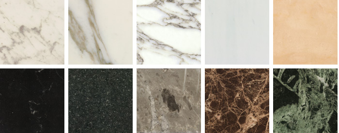 Knoll marble Finishes