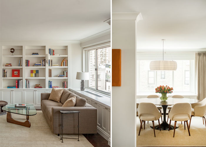 Leonora Mahle designs for Madison Ave. Duplex