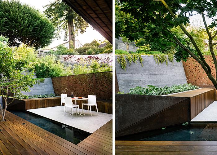 mary barensfeld s garden living room inspiration knoll rh knoll com