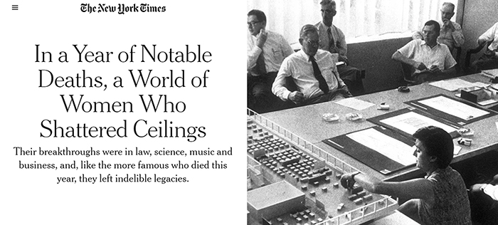 Florence Knoll Bassett New York Times Obituaries