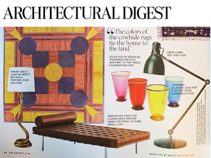 Architectural Digest Regional Press Knoll