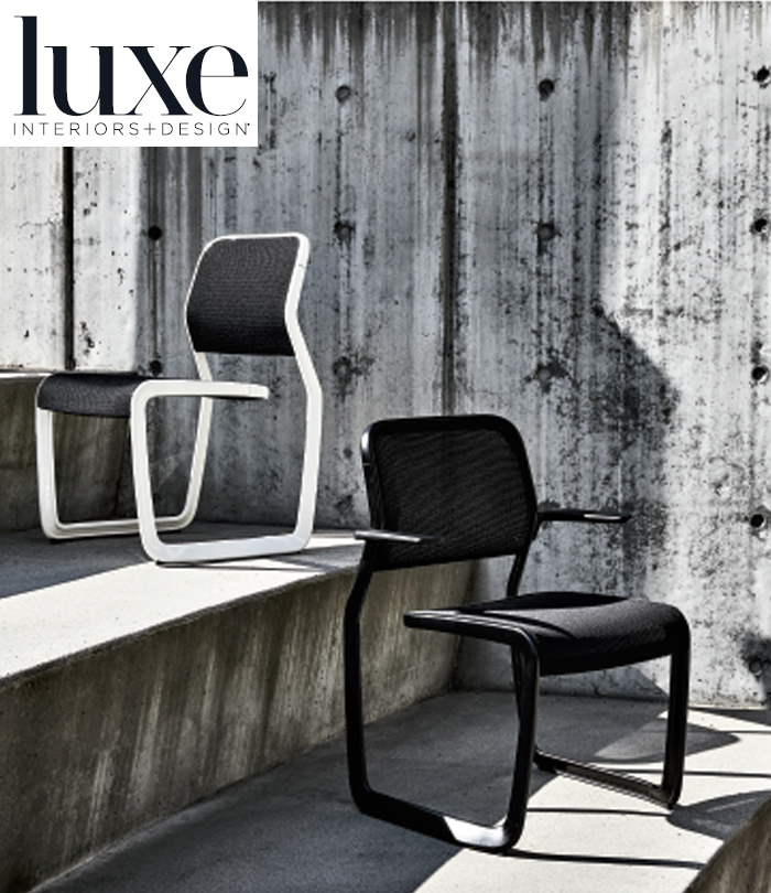 Newson Aluminum Chair Knoll Luxe Interiors
