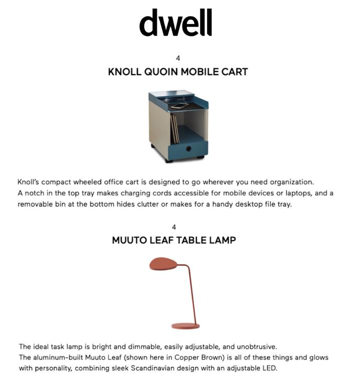 Dwell Azure Knoll Muuto