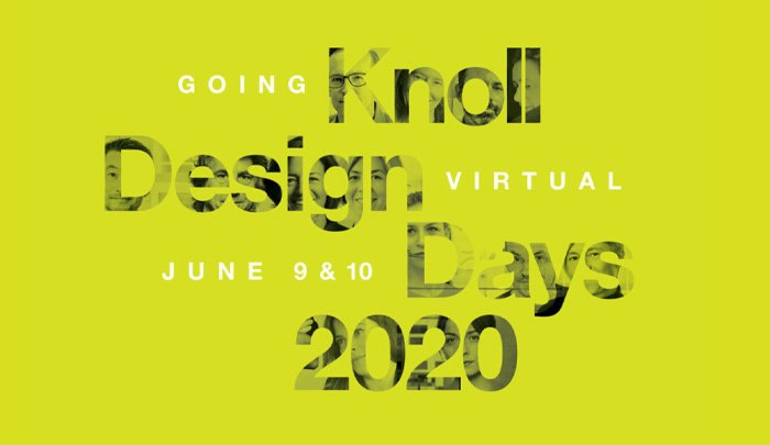 Trade Press Outlets Promote Virtual Knoll Design Days