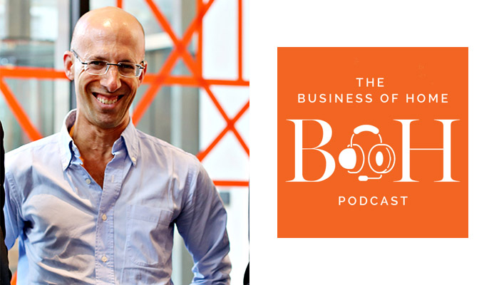 Knoll Chairman and CEO Andrew Cogan Featured on Business of Home Podcast